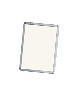 cartelera 64x89 cm plateado aluminio (1 unid.)