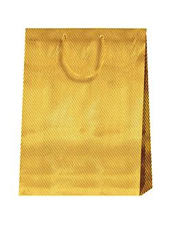 10 u. bolsas sos large 'el dorado' 150 g/m2 26,4x13,6x32,7 cm dorado celulosa (1 unid.)