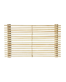 presentation tablemat 53x32,5 cm natural bamboo (10 unit)