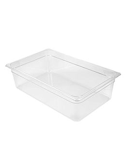 cubeta gastronorm 1/1 19,1 l 53x32,5x15 cm transparente policarbonato (1 unid.)