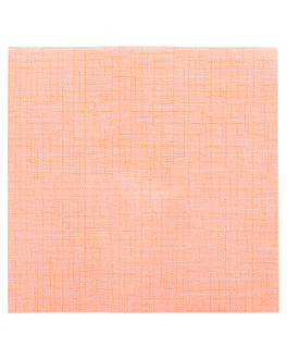 servilletas 'dry cotton' 55 g/m2 40x40 cm mandarina airlaid (700 unid.)