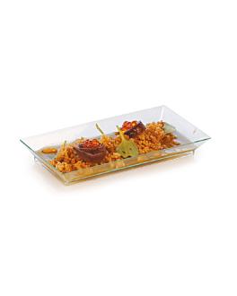 trays 13x6,4x1,6 cm sea green ps (216 unit)