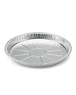 pizza plates 570 ml Ø 21,4x1,9 cm aluminium (500 unit)