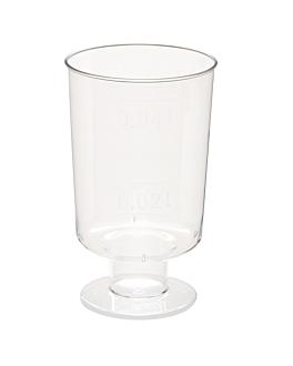 verres injectÉs liqueur 40 ml Ø 3,8x6,3 cm transparent cristal ps (1400 unitÉ)