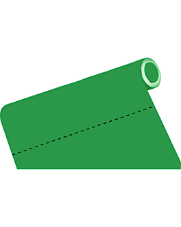 mantel precortado - 60 segmentos 60 g/m2 80x120 cm verde airlaid (4 unid.)