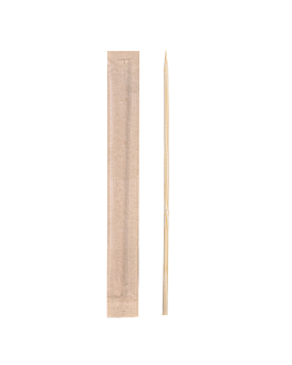 toothpicks wrapped kraft 9 cm natural wood (1000 unit)