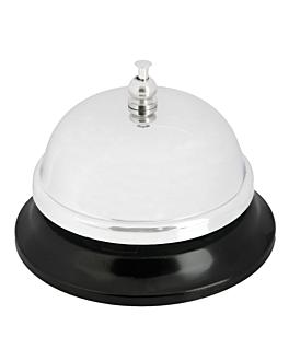 campanello per reception Ø 8,6x5,7 cm cromato acciaio (1 unitÀ)