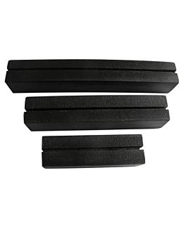 3 u. bases pour ardoises  noir bois (10 unitÉ)