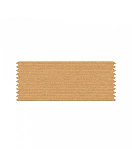 Étiquettes adhesives bande 2,4x6 cm naturel kraft (3000 unitÉ)