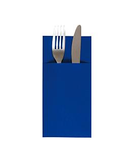 kangaroo napkins 55 gsm 40x40 cm navy blue airlaid (700 unit)