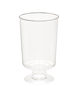 injected sherry glasses 95 ml Ø 4,8x8,5 cm clear cristal ps (600 unit)