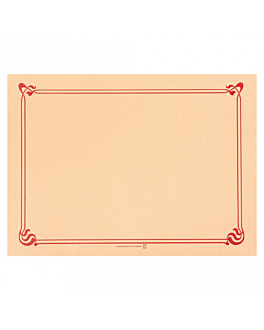 table mats 48 gsm 31x43 cm ivory cellulose (2000 unit)