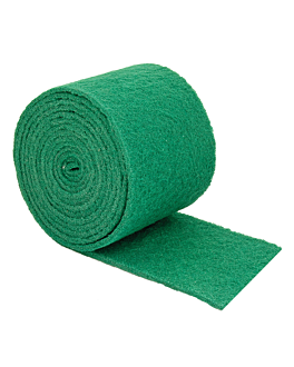scouring pad super 96 5 m x 14,5 cm green fiber (1 unit)