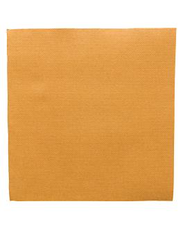 serviettes ecolabel 'double point' 18 g/m2 39x39 cm or ouate (1200 unitÉ)