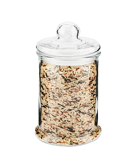 cylindrical storage jar 2755 ml Ø 15x28,5 cm clear glass (6 unit)