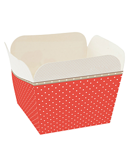 deli-containers 210 + 15 pe gsm 4,8x4,8x4,9 cm assorted cardboard (2000 unit)