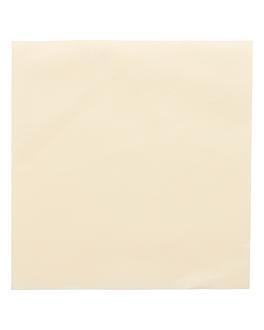 servietten 55 g/m2 40x40 cm elfenbein dry tissue (700 einheit)