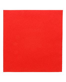 serviettes 55 g/m2 40x40 cm rouge dry tissue (700 unitÉ)
