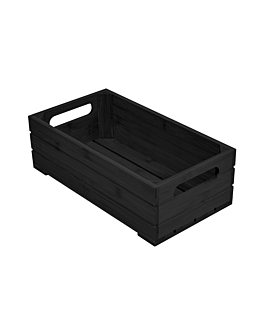 caja buffet gn 1/3 32,5x17,6x10 cm negro bambÚ (1 unid.)