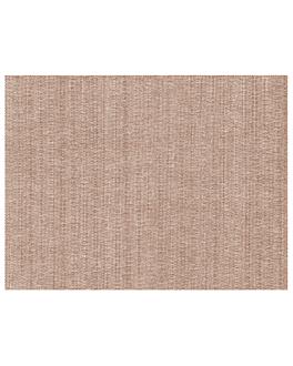 tovagliette 'like linen' 70 g/m2 30x40 cm cioccolato spunlace (800 unitÀ)