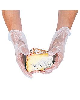 luvas com talco size: l translÚcido pvc (100 unidade)