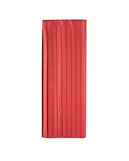 table skirtings 72x400 cm burgundy airlaid (5 unit)
