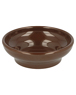 sauce bowls 150 ml Ø 10,2 cm brown melamine (48 unit)