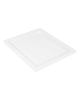 gn pans 1/2 2 (h) cm white melamine (6 unit)