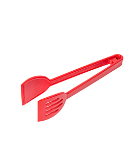 buffet tong 27 cm red polycarbonate (1 unit)