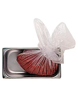 200 e. tÜten aufbewahrung/transport lebensmittel 15µ 69x95 cm transparent pe-hd (1 einheit)