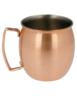 mug 'moscow' 420 ml Ø 8x9 cm copper stainless steel (1 unit)