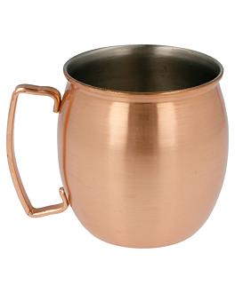 chope 'moscow' 420 ml Ø 8x9 cm cuivre inox (1 unitÉ)