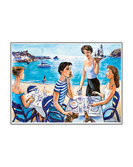 "table mats offset ""good morning, mediterranean"" 70 gsm 31x43 cm four coloured paper (2000 unit)"