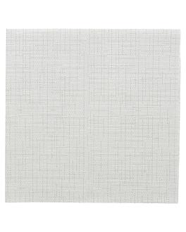 serviettes 'dry cotton' 55 g/m2 40x40 cm gris airlaid (700 unitÉ)