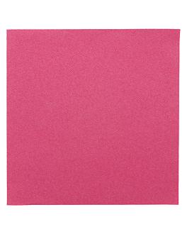 serviettes 55 g/m2 40x40 cm fuchsia dry tissue (700 unitÉ)