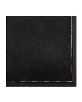 napkins f. 1/4 'cool-cotton' 140 gsm 32x32 cm black cotton (100 unit)