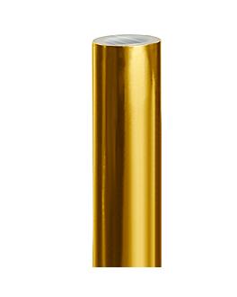 papel regalo 100 m 48 g/m2 70 cm oro (1 unid.)
