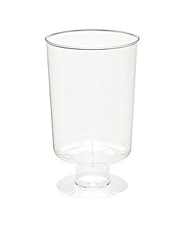 copas inyectadas jerez 95 ml Ø 4,8x8,5 cm transparente cristal ps (600 unid.)
