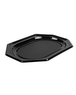plateuax traiteur 35x25x2 cm noir rpet (100 unitÉ)