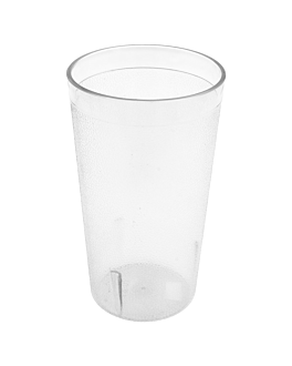 tumblers 360 ml Ø 5,5x12,7 cm translucent san (72 unit)