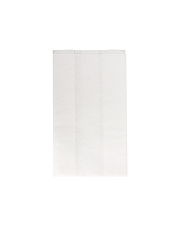 grillbags to heat sandwiches 'grill&go' 40 gsm 14+7x22 cm white cellulose (500 unit)