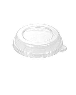 dome lids for item 233.03/04 'bionic' Ø12,4x2,5 cm clear pet (1500 unit)