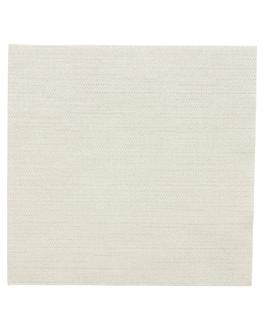 tovallons 'like linen' 70 g/m2 40x40 cm crema spunlace (600 unitat)