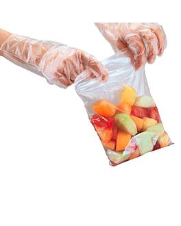 sacs auto-fermeture 92 g/m2 50µ 27x27 cm transparent peld (100 unitÉ)