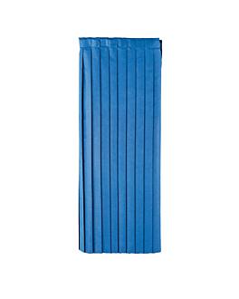 table skirtings 72x400 cm navy blue airlaid (5 unit)