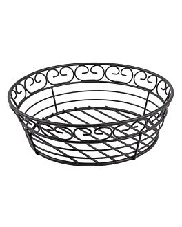 basket Ø 20,3x6,3 cm noir acier (1 unitÉ)