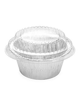 lids for item 340.23 Ø 9,5x2,2 cm clear pet (50 unit)