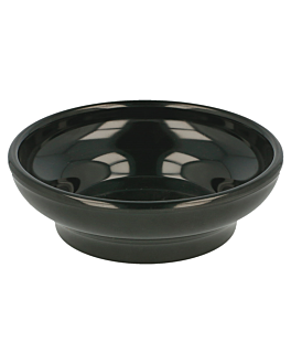 sauce bowls 150 ml Ø 10,2 cm black melamine (48 unit)