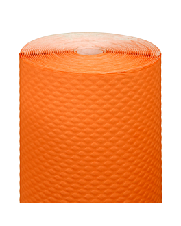 nappe en rouleau 48 g/m2 1,20x100 m orange cellulose (4 unitÉ)