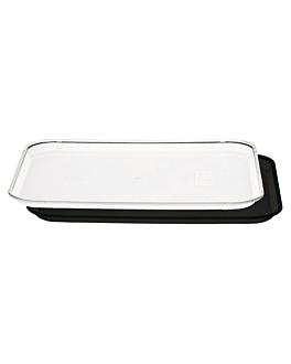 plateau pour coupole 40,5x56 cm noir polycarbonate (1 unitÉ)